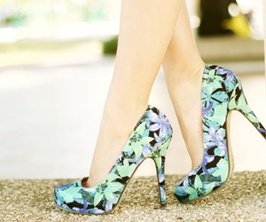 blog, heels, and outfit image