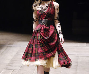 Alexander McQueen, fashion, and tartan image