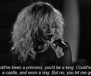 rihanna, princess, and king image