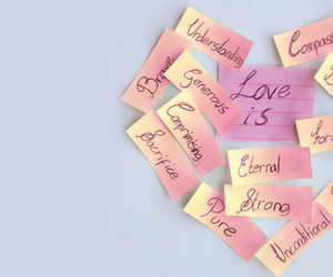 love, heart, and love is image