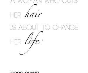 quotes, hair, and life image