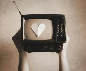 tv and heart image