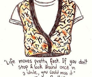 quote, movie, and ferris bueller image