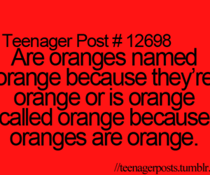 lol, oranges, and quotes image