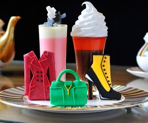 fashion, food, and shoes image