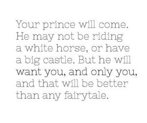 love, prince, and fairytale image