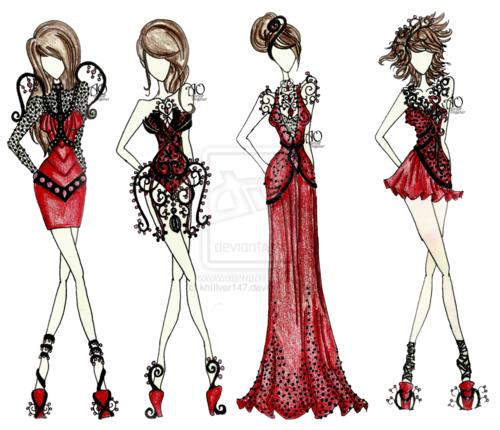 86 Images About Fashion Designs On We Heart It See More About Fashion Fashion Illustration And Drawing