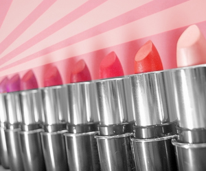 colorful, cool, and lipstick image