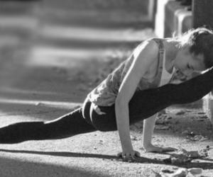 ballerina, beautiful, and black and white image