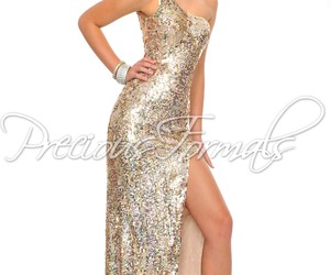 dress, gown, and one shoulder image