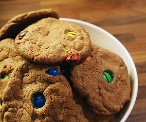Cookies, yummy, and m&m's image