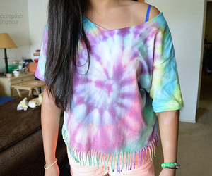 fashion, colorful, and girl image