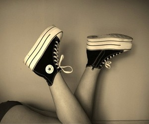 converse, fashion, and legs image
