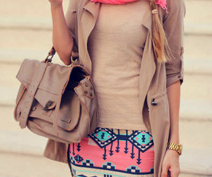 bag, beige, and blond image