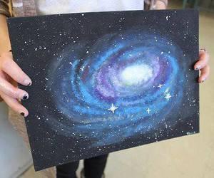 galaxy and art image