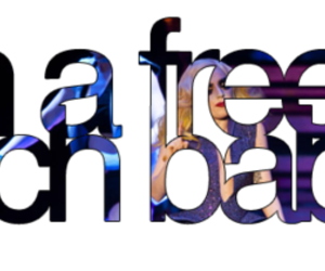 Lady gaga and typography image