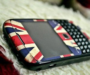 blackberry, phone, and london image