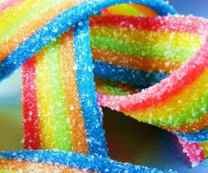 candy, rainbow, and sweet image