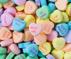 candy, love, and heart image