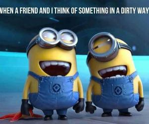 minions, friends, and funny image