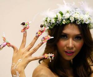 amazing, bride, and nail image