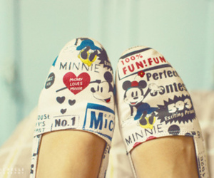 shoes, disney, and mickey image