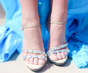 Prom, shoes, and sparkley image