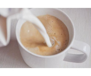 coffee, cups, and milk image