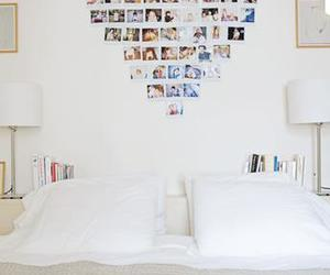 heart, bedroom, and photo image