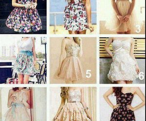 beautiful, vestido, and clothes image