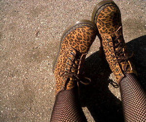 shoes, boots, and leopard image