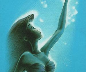 ariel, princess, and blue image