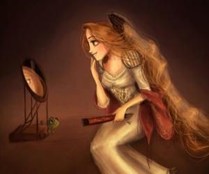 princess, rapunzel, and disney image