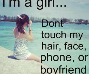 girl, boyfriend, and hair image