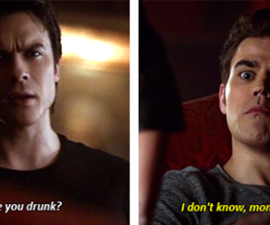funny, ian somerhalder, and the vampire diaries image