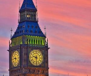 Big Ben, tower, and clock image