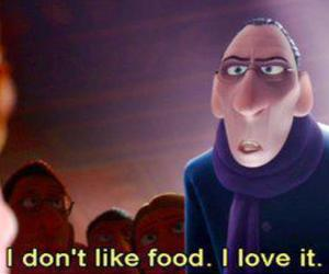 food, love, and quotes image
