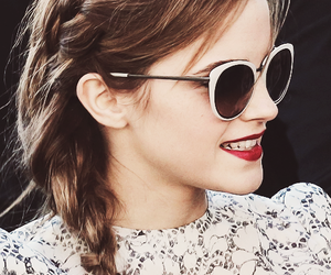 emma watson, sunglasses, and emma image