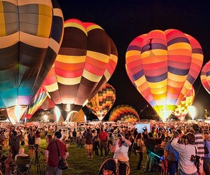 photography, beautiful, and balloons image