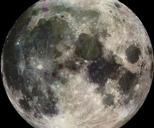 full moon, moon, and public domain license image