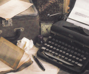 vintage, book, and old image