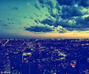 Dream, city, and sky image