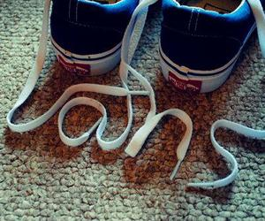 cords, shoes, and vans image