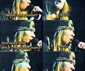 axl rose, gnr, and Guns N Roses image