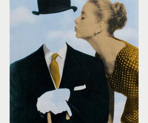 art, vintage, and kiss image
