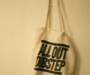 dubstep and canvas bag image