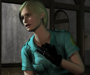 horror, silent hill, and cybill image