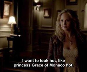 caroline, grace, and Vampire Diaries image