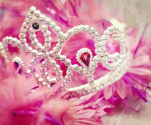 pink, princess, and cute image
