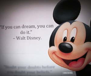 disney, Dream, and mickey image